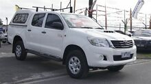2012 Toyota Hilux KUN26R MY12 SR (4x4) White 4 Speed Automatic Dual Cab Pick-up Brooklyn Brimbank Area Preview