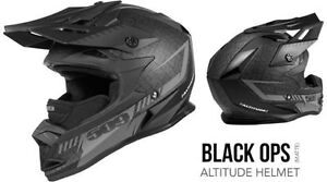 509 Altitude Helmet - BLACK OPS at ORPS PARTS NO Tax on 509