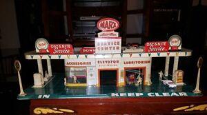 Vintage Marx Service Station