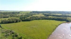Half Section for Sale at MB/SK Border North of Benito