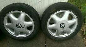 15 inch alloys and tyres