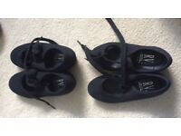 Tap shoes size 6 and size 9 good condition