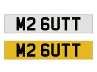 MR PRIVATE NUMBER PLATES FOR SALE BUTT M2 CHERISHED SEE DESCRIPTION
