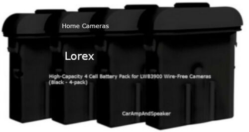 LOREX High-Capacity 4 Cell Battery Pack for LWB3900,3801 wireless-Free Cameras