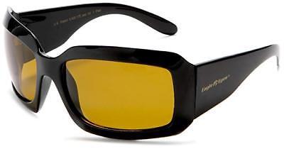 Eagle Eyes Women's Gemstone Sunglasses Black Frame UV Blue Light Protect Shades