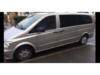 Mercedes VITO 116 CDI *XLWB* AUTO, FULL AC, TINTED WINDOWS. As NEW Viano V Class