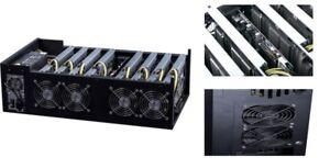 Brand New 8 GPU (AMD RX580) ETH Mining Server.