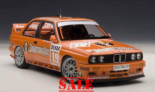 AUTOart 89248 BMW M3 DTM 1992 Jägermeister
