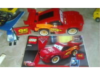 LEGO Cars 8484/8423/8424 3 sets (100% complete, with instructions and all characters, no box)