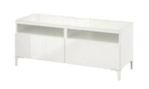 IKEA BESTÅ TV unit with drawers WHITE