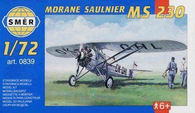 French Model Kit (Morane Saulnier MS 230, French Fighter (1/72 model kit, Smer 0839) )