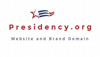 Presidency.org Website Domain Great For A President Or The 2020 Election