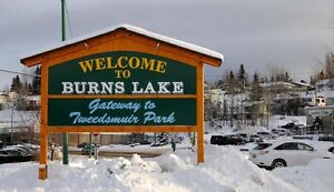 Looking for a rental in Burns Lake BC!