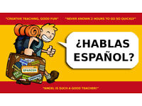 SPANISH in small GROUPS or 1to1s. Experienced native teacher. Different levels.
