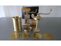 Brass Heavy Duty No 8 Sev Sancha for making String Hoppers, Noodles, Indian Snacks - NEW