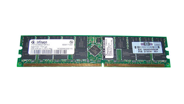 HP Infineon DDR PC3200R 400 MHz ECC RAM