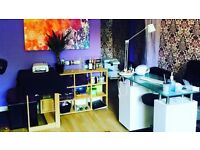 fully furnished beauty salon TO LET in city centre LANCASTER