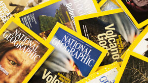 collection de magazine National Geographic