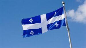 Drapeaux du Canada et du Quebec West Island Greater Montréal image 2