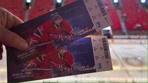 Billets Canadiens de Montréal Zone DesJardins