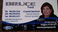 FINANCING FOR THE CREDIT-CHALLENGED AT BRUCE FORD!!