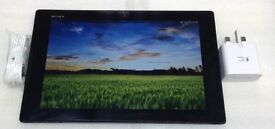 """Sony Xperia Z SGP321 10.1"""" tablet WiFi 16GB Android version 4.2.2 Black color"""