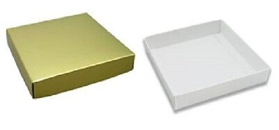 Mod-pac Gift Boxes 2 Piece Goldwhite 6 X 6 X 2 3800b1964c Pack Of 10