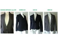 Women's tailored jackets 8-12UK