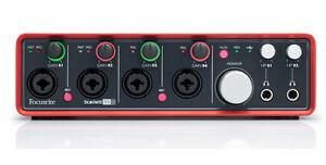 Focusrite Scarlett 18i8 18 in  8 out USB 20 audio interface - Whittier, California, United States - Focusrite Scarlett 18i8 18 in  8 out USB 20 audio interface - Whittier, California, United States
