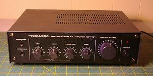 Realistic 20 Watt PA Amp/Mixer