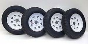 Supersale B/New ST205/75R14 Trailer Tire & Rim Assembly $139!!!!