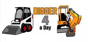 Digger 4 a Day.  $165* a day on a trailer. Ashmore Gold Coast City Preview