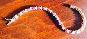 Beautiful Ruby and Diamond bracelet: Must sell. $2000.00 OBO