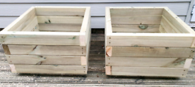 Softwood planters