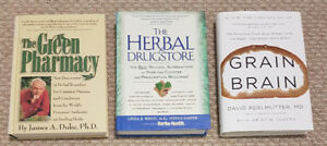 Books on Health & Natural Remedies.