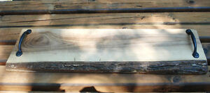 Rustic Live Edge Serving Board Peterborough Peterborough Area image 1