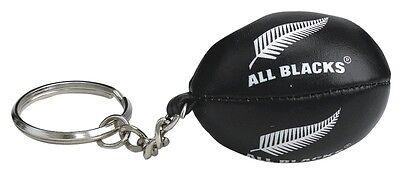 Gilbert Rugby Ball Schlüsselanhänger - All Blacks