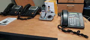 Office Phones, Various Types