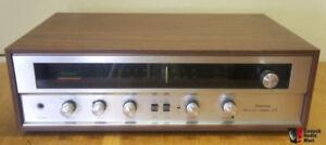 Vintage SANSUI 210 AM/FM Receiver- phono/aux/tape