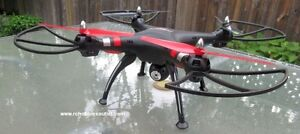 RC Quadcopter / Drone  2.4G with 5.8G FPV and Camera, RTR Sarnia Sarnia Area image 4