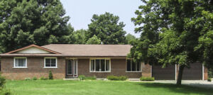 Large bungalow on 16 acres + in-ground pool+ 3000 sqft Shop