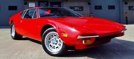 1974 De Tomaso Pantera 5.8 V8 Rare Original Example Must See!