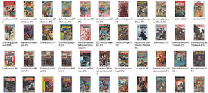 Comic Book Collection Lot for sale Key issues #1 Marvel DC
