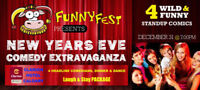 NYE Dine and Dance - FunnyFest Comedy Society