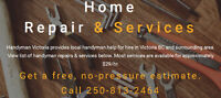 Your Handyman in Victoria is here!