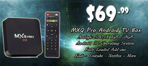 MXQ Pro Android TV Boxes (New)
