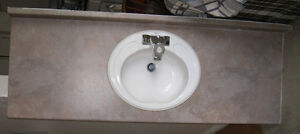 2 Bathroom Counter Tops with Sinks and Taps Kingston Kingston Area image 3