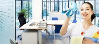 Service d'entretien ménager de bureaux et commercial