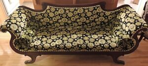 Empire Couch Great Upholstery MINT - Estate Auction May 7th
