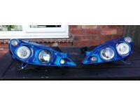 Rare Peugeot 307 phase 1 morrete headlamp upgrades
